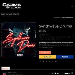 Synthwave Drums - CarmaStudio