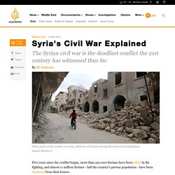 Syria's Civil War Explained - AJE News