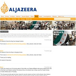 Syria Live Blog