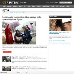 Syria | uk.reuters.com