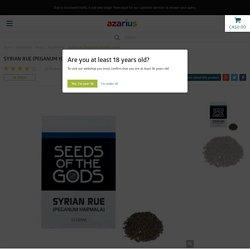 Syrian rue (Peganum harmala) seeds - Azarius
