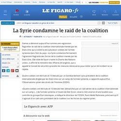 12/2015 Les US bombardent l'armée syrienne