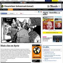 Huis clos en Syrie