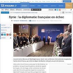 Syrie:la diplomatie française en échec - Pale Moon