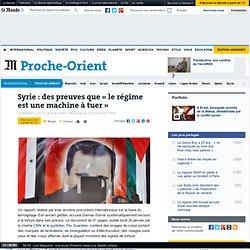 Syrie : le régime accusé de torture à grande échelle