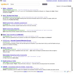 Qrobe.it searches Google, Bing and Ask simultaneously.