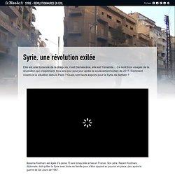 Syrie : révolutionnaires en exil