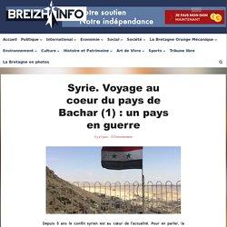 Syrie. Voyage au coeur du pays de Bachar (1) : un pays en guerre