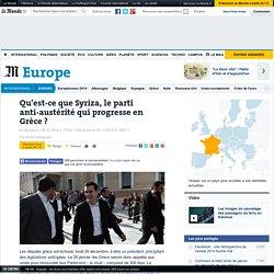 Qu'est-ce que Syriza, le parti antiaustérité qui progresse en Grèce ?