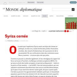 Syriza cernée