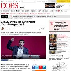 GRECE. Syriza est-il vraiment d'extrême gauche ?
