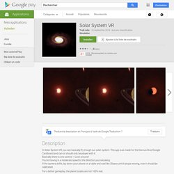 Solar System VR – Applications Android sur Google Play