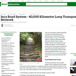 Inca Road System Construction and Lodging