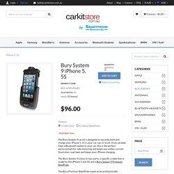 Bury System 9 Cradle iPhone 5, 5S
