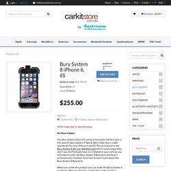 Bury System 8 Cradle iPhone 6, 6S