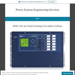 Blog – Power System Engineering Services