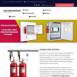 FM200 Fire System Manufacturer