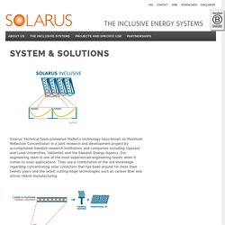 SYSTEM & SOLUTIONS