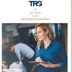 ERP System South Africa - trgsatown.simplesite.com