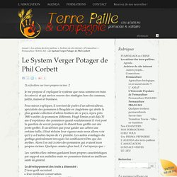 Le System Verger Potager de Phil Corbett