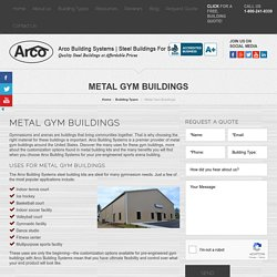 Prefab Gym Buildings