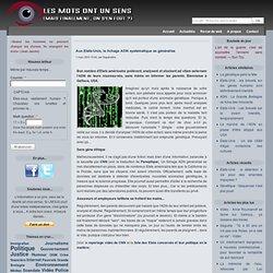 Etats-Unis : le fichage ADN systématique se généralise