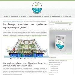 La barge méduse: ce système aquaponique géant