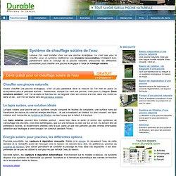 Chauffage solaire pearltrees for Chauffer piscine naturelle