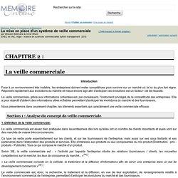 La mise en place d'un système de veille commerciale - Wissam Belimane & Amel Rhani