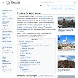 Système de Westminster