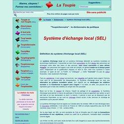 Système d'échange local (SEL)