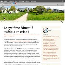 Le système éducatif suédois en crise