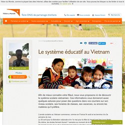 Le système éducatif au Vietnam