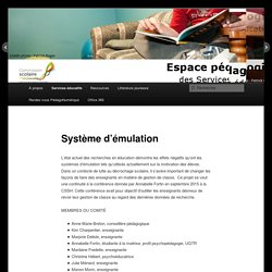 Système d'émulation