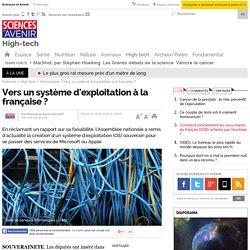 Vers un système d'exploitation à la française ? - 15 février 2016