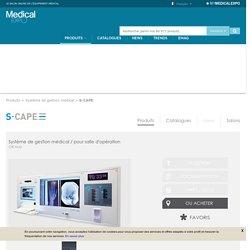 Système de gestion médical / pour salle d'opération - OR Hub - S-CAPE