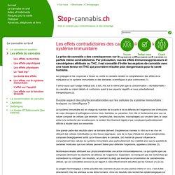 Les effets sur le système immunitaire - Stop-Cannabis.ch
