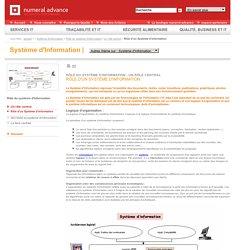 Système d'Information - Rôle du système d'information - Un rôle central - Rôle d'un Système d'Information