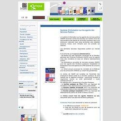 Système d'information sur les agents des services publics