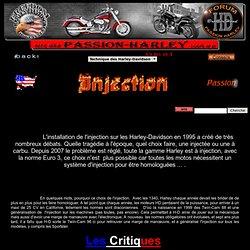 Le système d'INJECTION sur les Harley Davidson par Passion-Harley®