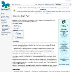 Système Jean Pain
