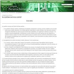 Le système nerveux central - Campus de Neurochirurgie