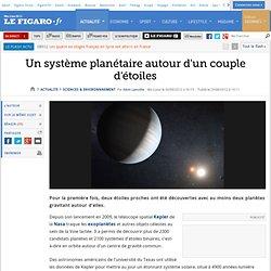 Sciences : Un système planétaire autour d'un couple d'étoiles