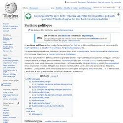 Système politique