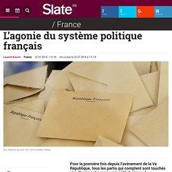 L'agonie du système politique français
