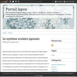 Le système scolaire japonais - Portail Japon