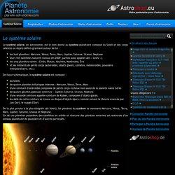 Planète Astronomie ★ Le Système Solaire