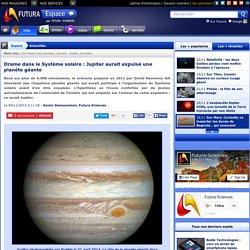 Drame dans le Système solaire : Jupiter aurait expulsé une planète géante