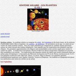 Le système solaire en détail
