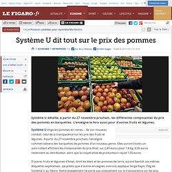 Sociétés : Système U dit tout sur le prix des pommes
